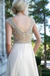 Fairy Balklänning med exklusiva stenar och pärlor detaljer