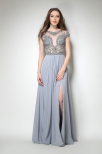 Grey Winslo dress by Olivia White EXCLUSIVE