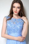 Noelle lace top dress by Olivia White