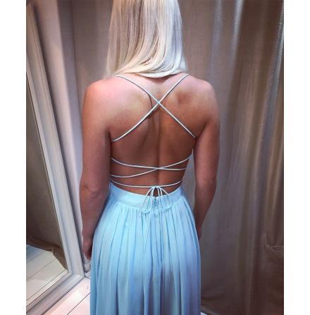 Kelly open back dress
