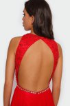 Jessie open back dress