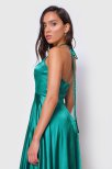 Satin Solana Dress