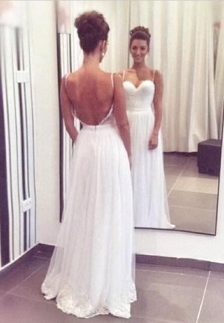 Anna Open Back Dress
